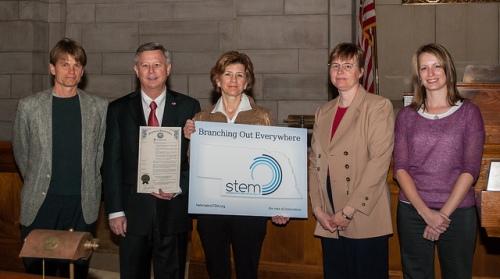 STEM, Nebraska, governor proclamation