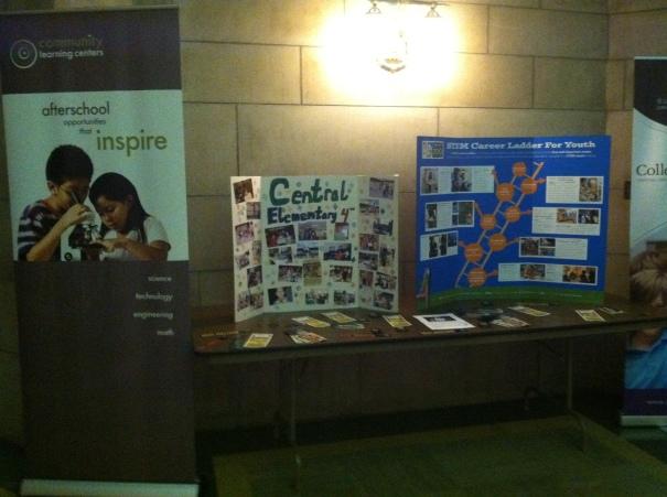 STEM exhibits in the capital Rotunda.