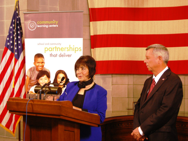 Governor Heineman and First Lady Sally Ganem proclaim August Parental Involvement Month.