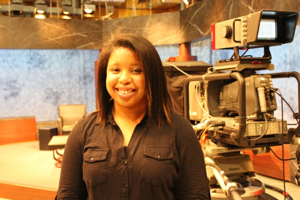 Schalisha Walker prepares to represent to voice of the youth she serves through Project Everlast.