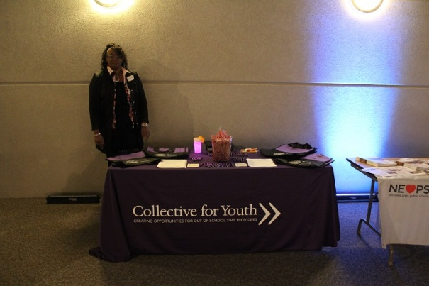 Collective for Youth booth