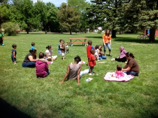 Social outing for teen parents to get the support they need and practice their parenting and interaction skills in a group.