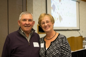 Barb Schlothauer and her husband, Dr. George Schlothauer