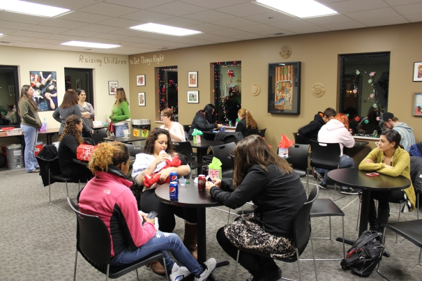 Fun, food and fellowship at the Project Everalst Lincoln holiday party!