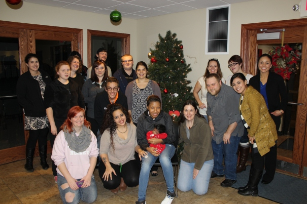 The Lincoln Project Everlast Council poses for a holiday group photo