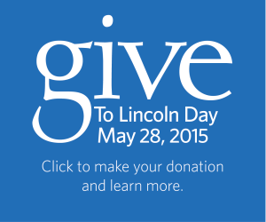 Give to Lincoln Day, May 28, 2015
