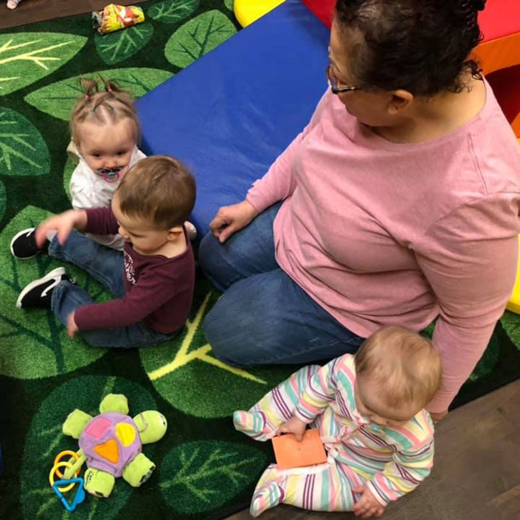 """Shannon said, """"The benefits have been huge! We have been able to get some amazing resources for our infant and toddler rooms!"""""""