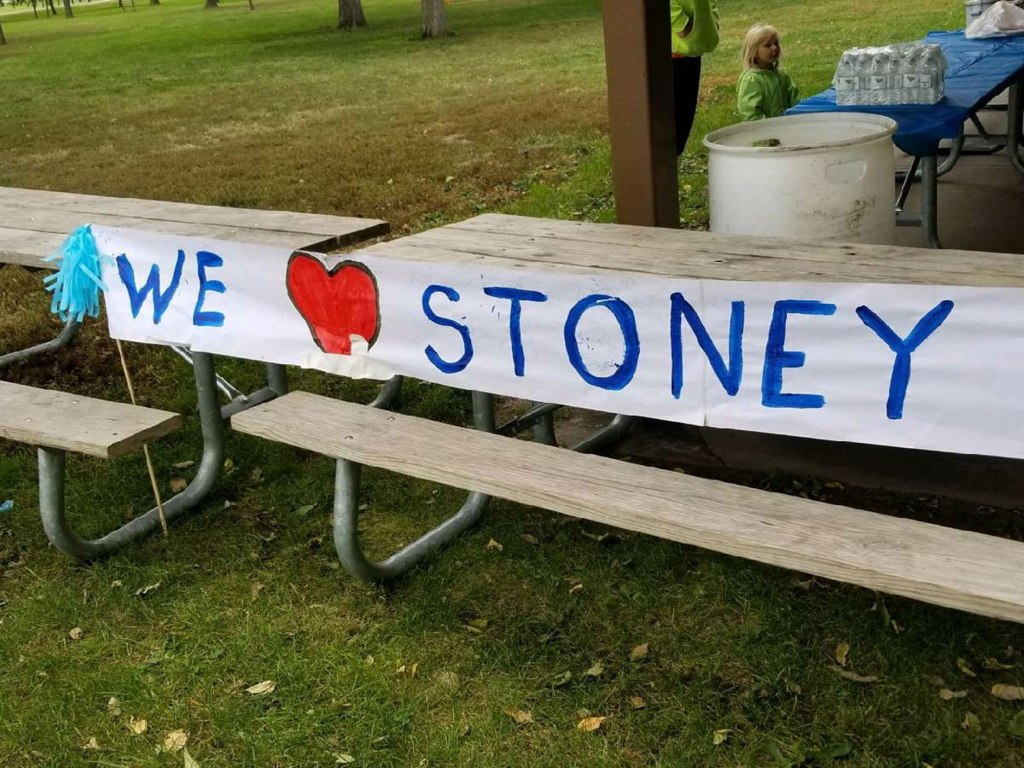 Stoney's families planned a surprise picnic party to celebrate once she reached Step 5!