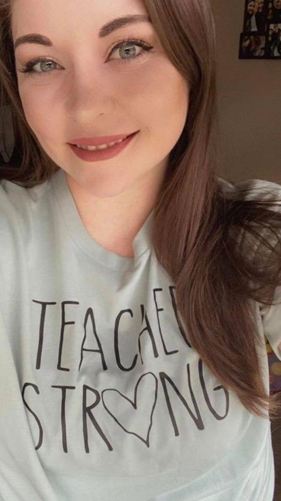 Katie is lead teacher in The Teaching Tree Baby Birds room (6 weeks-12 months).