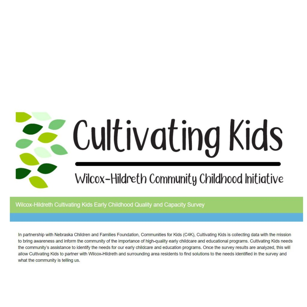 Cultivating Kids, the newest C4K initiative, grows quality care and programs!