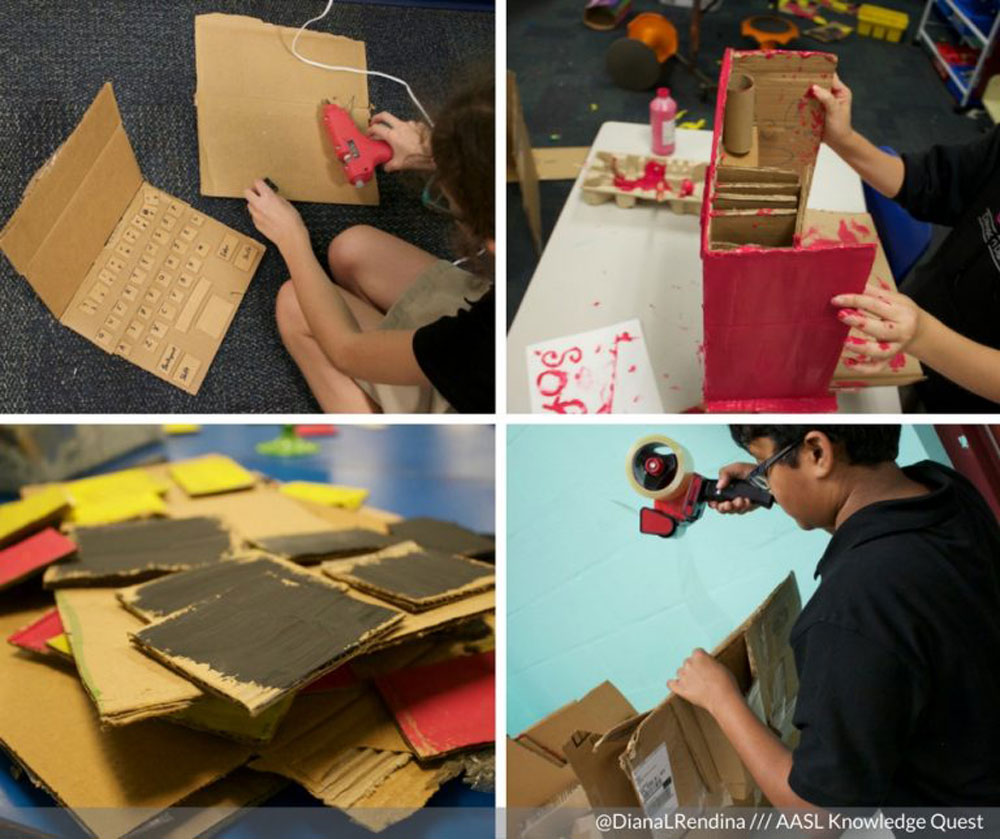 Cardboard Challenges...