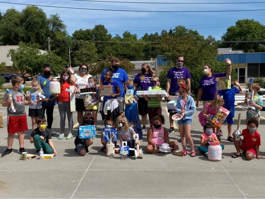 When Beyond School Bells and donor Big Red Keno teamed up with Family Service Lincoln...back-to-school's uncertain future became clearer and brighter!