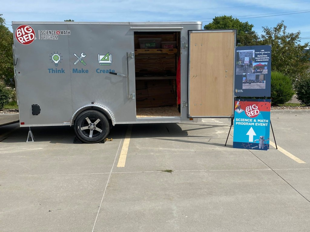 Who knew that a 6-12-foot mobile makerspace could hold so MUCH STEM and hope?