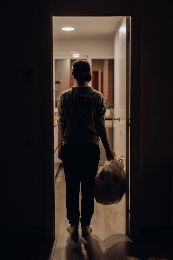 A young woman was temporarily homeless. How did she use her resilience, resources, and a little support from a Central Navigator and KAJ Hospitality to find a place she now calls home?