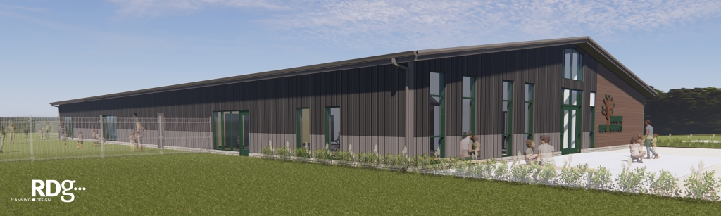 Here is a digital image of Boone Early Beginnings' exterior.