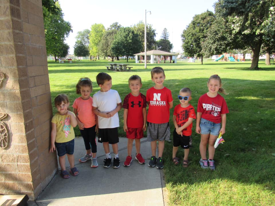 Here are some thriving Boone County kiddos. Research shows that early care and education helps kids succeed in life!