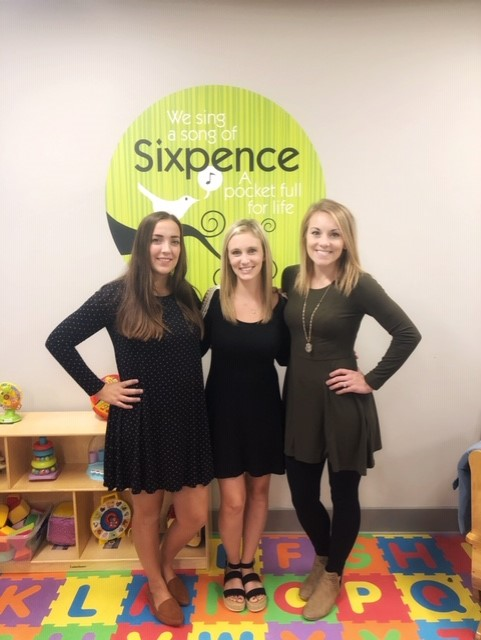 Fremont Sixpence team l to r: Kiersten Elsasser, Lauren Stoklasa, Erin Dostal.