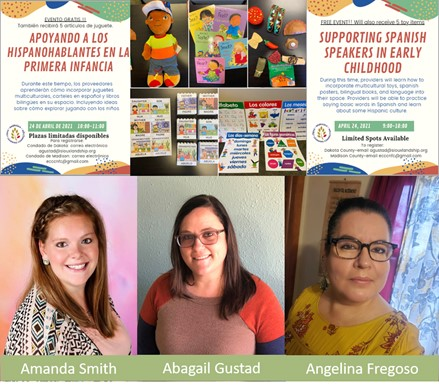 Madison and Dakot County are taking steps for providers and Spanish-speaking families to engage in a journey of discovery.