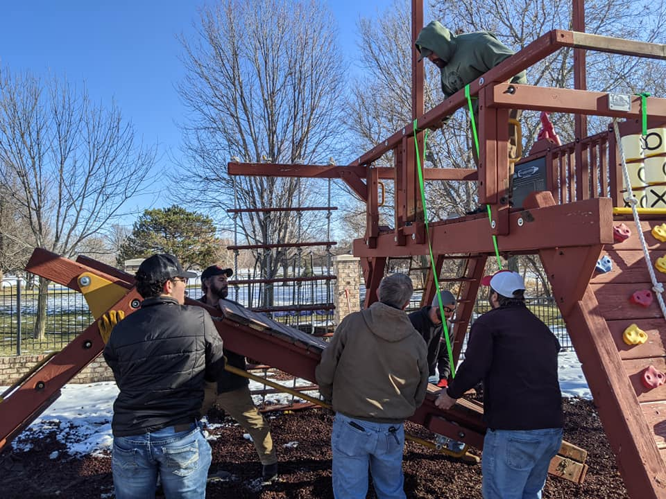 The whole Wood River community pitched in to create this quality center!