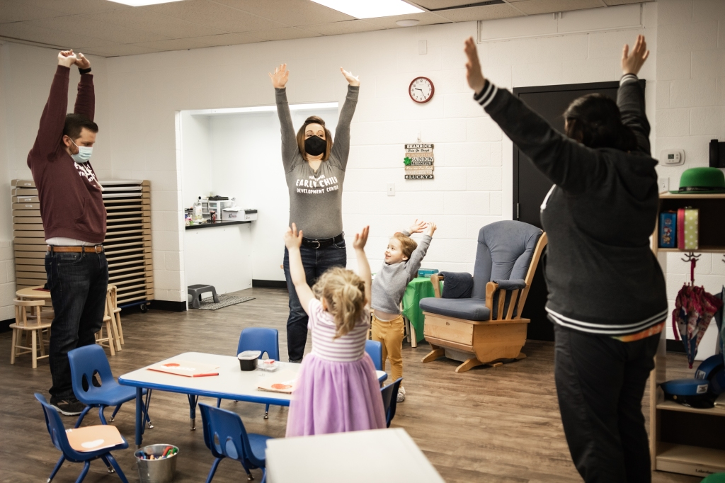 If you're happy and you know it...jump for joy! Kyla and her husband knew that their networking talents and Sixpence CCP could create the perfect childcare center.