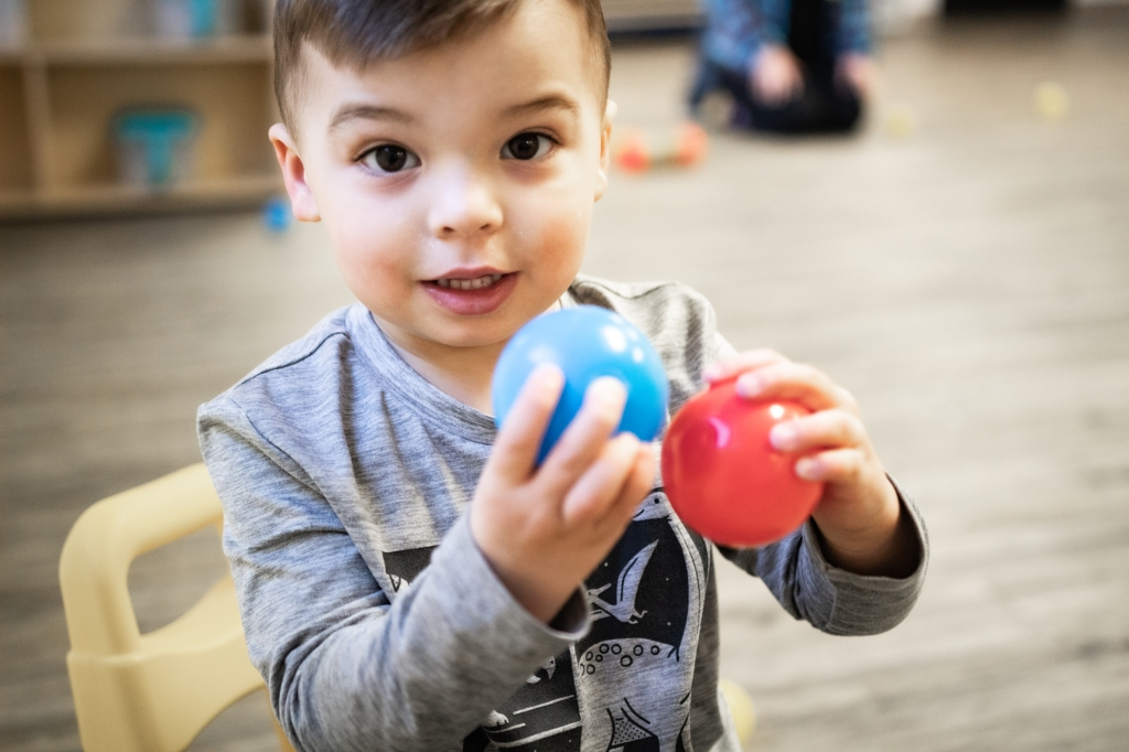 Sixpence CCP responds to providers' needs by allowing the center to purchase developmentally appropriate materials for infants and toddlers.