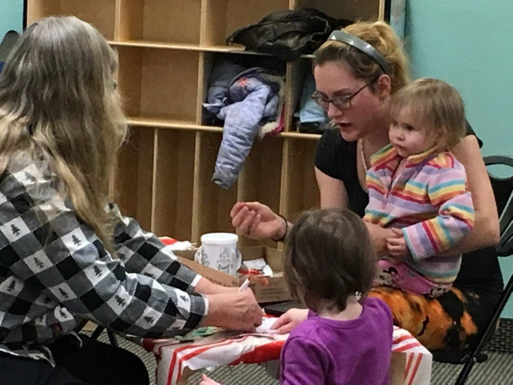 Is Sixpence coming to a place near you? As of August 2021, we're currently funding over 40 grantees across Nebraska. Families work with home visitors including (above right) Jyselle Loos and her toddler and baby.